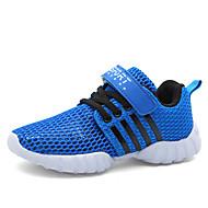 baratos Sapatos de Menino-Para Meninos Sapatos Malha Respirável Primavera Verão Conforto Tênis Presilha para Preto / Azul Real