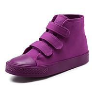 baratos Sapatos de Menina-Para Meninas Sapatos Lona Outono Conforto Tênis para Branco / Roxo / Amarelo