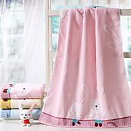 billiga Handdukar och badrockar-Överlägsen kvalitet Badhandduk, Tecknat Polyester / Bomull Blandning / 100% bomull 1 pcs