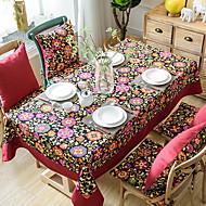 billige Duker-Moderne PVC / Bomull Kvadrat Duge Blomstret Borddekorasjoner 1 pcs
