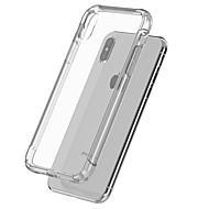billiga Mobil cases & Skärmskydd-fodral Till Apple iPhone 6s / iPhone 5-fodral Stötsäker / transparent kropp Skal Enfärgad Mjukt TPU för iPhone X / iPhone 8 Plus / iPhone