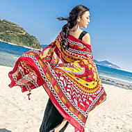 tanie Ręcznik plażowy-Najwyższa jakość Ręcznik plażowy, Geometryczny Bawełniano-poliestrowy 1 pcs