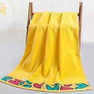 baratos Toalha de Banho-Qualidade superior Toalha de Banho, Poá Combinação Poliéster / Algodão 1 pcs
