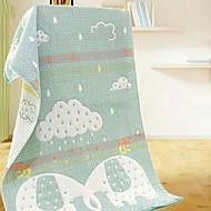 billiga Handdukar och badrockar-Överlägsen kvalitet Badhandduk, Enkel / Geometrisk Polyester / Bomull Blandning Badrum 1 pcs