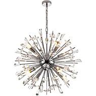 billiga Belysning-QIHengZhaoMing 8-Light Sputnik Ljuskronor Glödande - Kristall, 110-120V / 220-240V / AC100-240V, Varmt vit, Glödlampa inkluderad / 15-20㎡