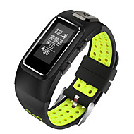 tanie Inteligentne zegarki-Inteligentny zegarek STSDB10 na Android 4.3 i nowszy / iOS 7 i nowsze Pulsometr / Pomiar ciśnienia krwi / Spalone kalorie / Długi czas czuwania / Ekran dotykowy Krokomierz / Powiadamianie o