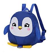 Χαμηλού Κόστους Preschool Backpacks-Γιούνισεξ Τσάντες Καμβάς Σχολική τσάντα Φερμουάρ Μαύρο / Ρουμπίνι / Φούξια