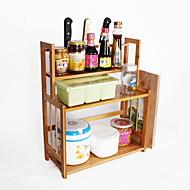 billiga Köksförvaring-Kök Organisation Ställ & Hållare Trä Lätt att använda 1st