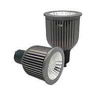 billige Innfelte LED-lys-ZDM® 2pcs 6W 1 LED LED-spotpærer Varm hvit Kjølig hvit Naturlig hvit 85-265V Kommersiell Hjem / kontor