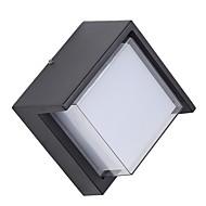 billige Vegglamper-Matt Enkel Vegglamper Soverom / Utendørs Aluminum Vegglampe 12W