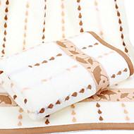 baratos Toalha de Banho-Qualidade superior Toalha de Banho, Listrado Combinação Poliéster / Algodão Quarto 1 pcs