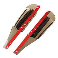 2pcs 車 車の雨の眉 ビジネス ペーストタイプ For バックミラー For ユニバーサル 全ての機種 全年式