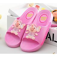 baratos Sapatos de Menina-Para Meninas Sapatos PVC Verão Conforto Chinelos e flip-flops para Vermelho / Azul / Rosa claro