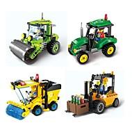 Lego 102 pcs Interacțiunea părinte-copil Priveliște Vehicul de Construcție / Compactor Cadou