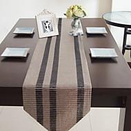 abordables Linge de table-Moderne PVC Carré Nappes de table Géométrique Décorations de table 1 pcs
