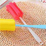 baratos Acessórios de Limpeza de Cozinha-Cozinha Produtos de limpeza Esponja / Plástico Escova e Pano de Limpeza Simples / Proteção / Ferramentas 1pç