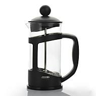 levne Kuchyňská náčíní-Kempovací konvice na kávu Konvice na kávu Lehký sklo / Nerez / PP Outdoor pro Turistika / Kempink / Cestování Černá