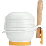 baratos Renovando-misturador de comida para bebé juicer alimentação babycare mannual pp / tpe material microwavable anti-deslizamento 0.75 kg