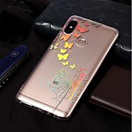 billiga Mobil cases & Skärmskydd-fodral Till Xiaomi Redmi Note 5 Pro / Redmi 5A Plätering / Mönster Skal Fjäril / Maskros Mjukt TPU för Xiaomi Redmi Note 5 Pro / Redmi 5A / Xiaomi Redmi 5 Plus