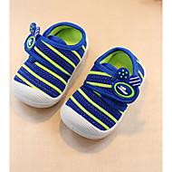 tanie Obuwie chłopięce-Dla chłopców Obuwie Tiul Wiosna & jesień Buty do nauki chodzenia Tenisówki na Niebieski / Różowy