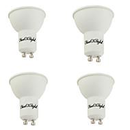 billige Spotlys med LED-YouOKLight 4stk 400lm GU10 LED-spotpærer MR16 10 LED perler SMD 5730 Dekorativ Varm hvit 85-265V
