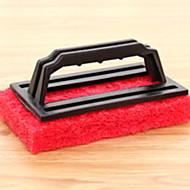 tanie Artykuły kuchenne do czyszcznia-Kuchnia Środki czystości Tworzywa sztuczne / gąbki z mikrofibry Szczotka i ścierka do czyszczenia Prosty 1szt