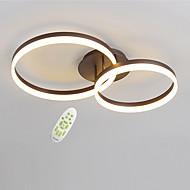 billige Bestelgere-moderne elektrodeløs dimming led taklampe 50/40 to runder akryl innendørs lys til stue soverom restaurant
