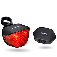 billige Sykkellykter og reflekser-Baklys til sykkel / sikkerhet lys / Baklys LED Sykling Vanntett, Bærbar, Fjernkontroll Li-ion 20 lm CR2032 batteri Rød Sykling - ROCKBROS