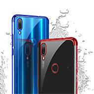 billiga Mobil cases & Skärmskydd-fodral Till Huawei P20 Pro / P20 lite Plätering Skal Enfärgad Mjukt TPU för Huawei P20 / Huawei P20 Pro / Huawei P20 lite