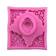 billiga Kök och matlagning-Bakeware verktyg Silikongel 3D-seriefigur / Vackert / Kreativ Tårta / Gryende Cube Cake Moulds 1st
