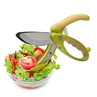 baratos Utensílios de Fruta e Vegetais-Utensílios de cozinha Aço Inoxidável Início ferramenta da cozinha Scissor / Salad Tools Fruta / Vegetais / Salada 1pç