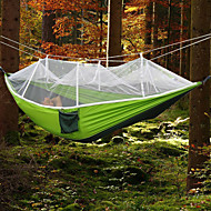 ieftine -Hamac Camping cu Plasă de Țânțari În aer liber Portabil, Rezistent la umezeală, Bine Ventilat Filare bumbac pentru Camping & Drumeții /
