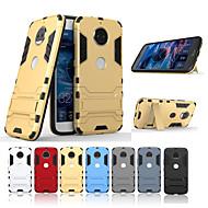 billiga Mobil cases & Skärmskydd-fodral Till Motorola G5 Plus / G5 med stativ Skal Enfärgad Hårt PC för Moto G5s Plus / Moto G5s / Moto G5 Plus