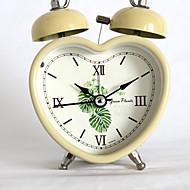 billiga Väckarklockor-Väckarklocka Ramtyp Metall Quartz 1 pcs