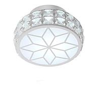 billige Taklamper-QIHengZhaoMing Takplafond Omgivelseslys - Krystall, 110-120V / 220-240V, Varm Hvit / Kald Hvit, LED lyskilde inkludert