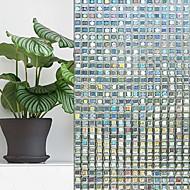 cheap Window Film & Stickers-Window Film & Stickers Decoration Geometric Geometric PVC(PolyVinyl Chloride) Window Sticker / Mirrored