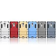 billiga Mobil cases & Skärmskydd-fodral Till Huawei Mate 8 med stativ Skal Enfärgad Hårt PC för Huawei Mate 8