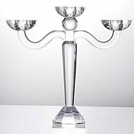 ieftine Decor Casă-Modern / Contemporan sticlă Suporturi Lumânări Candelabra 1 buc, Lumânare / Suport pentru lumânări