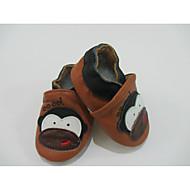tanie Obuwie chłopięce-Dla chłopców Obuwie Skórzany Zima Wygoda Mokasyny i pantofle na Beżowy / Kawowy / Czerwony