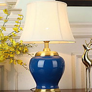 billige Lamper-Kunstnerisk Dekorativ Bordlampe Til Stue / Entré Keramikk 220-240V Blå / Grønn