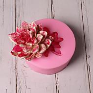 billige Bakeredskap-Bakeware verktøy Silikon Ferie / 3D-tegneseriefigur / Smuk Kake / Sjokolade / For kjøkkenutstyr Rund Cake Moulds 1pc