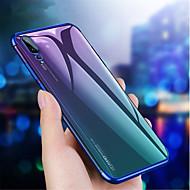billiga Mobil cases & Skärmskydd-fodral Till Huawei P20 / P20 Pro Plätering Skal Enfärgad Mjukt TPU för Huawei P20 / Huawei P20 Pro / Huawei P20 lite