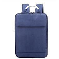 baratos Mochilas-Unisexo Bolsas Náilon mochila Ziper Azul / Preto / Cinzento