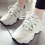 Žene Sneakers / Casual cipele Guma Trčanje Lagane, Prozračnost Sintetika, mikrofibra, PU / Mreža Obala / Crn / Pink