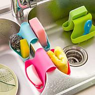 cheap Kitchen Cleaning Supplies-Kitchen Cleaning Supplies Silicon Bucket Storage / Multi-functional / Creative Kitchen Gadget 1pc
