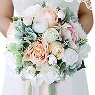 billige Kunstige blomster-Kunstige blomster 1 Gren Klassisk Fest / aften / Moderne / Nutidig Roser kurv av blomster