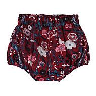 billige Undertøj og sokker til babyer-Baby Pige Basale Ensfarvet Polyester Undertøj og strømper Hvid