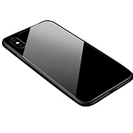 billiga Mobil cases & Skärmskydd-fodral Till Apple iPhone X / iPhone 8 Genomskinlig / Magnet Skal Enfärgad Hårt Aluminium för iPhone XS / iPhone XR / iPhone XS Max
