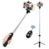 preiswerte -VORMOR Selfie - Stick Bluetooth Ausziehbar Maximale Länge 77 cm Für Android / Universell / iOS Android / iOS