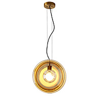 billiga Belysning-ZHISHU Geometriskt / Mini / Originella Hängande lampor Glödande Målad Finishes Metall Glas Kreativ, Ny Design 110-120V / 220-240V Glödlampa inkluderad / E26 / E27